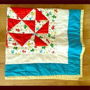Hand made children's blanket